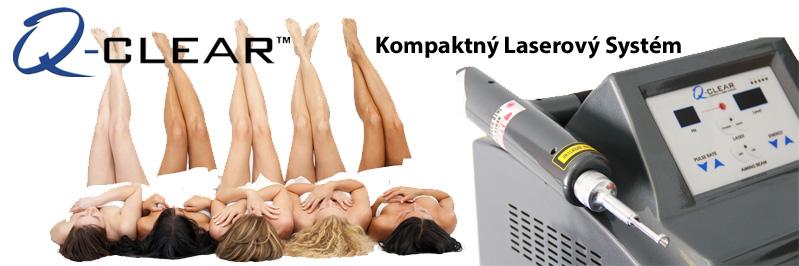 kompaktný medicínsky laserový systém